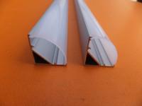 aluminum industrial profiles - m Corner aluminum led housing aluminum profile for led strip lignt led bar light width mm
