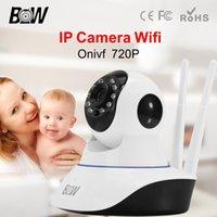 automatic door sensor - Wireless Security IP Surveillance Camera Wifi HD P P2P Automatic Alarm P T Infrared Motion Door Sensor Smoke Gas Detector