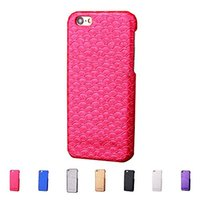 beautiful fishing - For iPhone s Plus Hard Case Pasting PU Beautiful D Mermaid Fish Scale Surface Design with Card Slot
