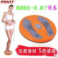balanced body equipment - 2016 New magnetic body twister board waist abdomen trainer wriggling plate fitness equipment loose weight balance disc with big chassis