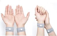 air sea shipping - 500 pair Sickness Reusable Prevent Nausea Car Sea Boat and Air Travel Wrists Anti Nausea Wristbands