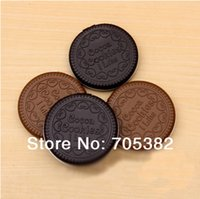 Wholesale Biscuit series hand Mirror Make up mirror Pocket cosmetic mirrors Daily accessories price SS
