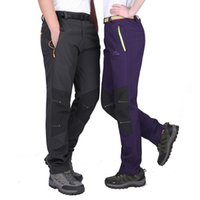 Wholesale Skiing Pants Outdoor Waterproof Windproof Big Charge Code Sports Camping Climb Fly Cycling Zipper Pants for Men and Women Couples