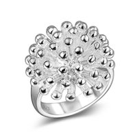 band fireworks - 925 Silver Fireworks Ring European and American style fashion jewelry jewelry female models ring Valentine gift for her mother friend sister