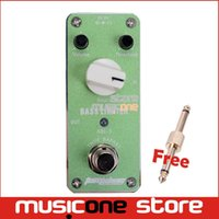 bass guitar volume knobs - MINI Bass Limiter Effect Pedal Aroma ABL guitar pedal AC DC Adapter Jack True bypass Volume Threshold attack Knob Pedal Switch