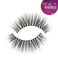 Wholesale 1Pair MT012 Mink Fake Eyelash Long Thick False Eyelashes Hand Made Eyelashes High Quality Eye Mink Lashes Makeup Curly lashes