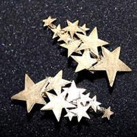 Wholesale Stars Barrettes for Women Girls hairwear Gold Silver plated stars Lady bobby pin designers hair Barrettes hair jewelry for gifts