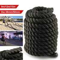 Wholesale high quality Battle Rope mm Training Battling Sport Exercise Fitness Power Gym BOOTCAMP