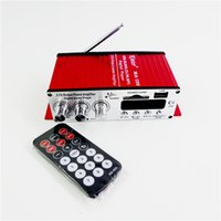 Wholesale Kinter MA FM USB MP3 Digital Player DC12V Mini Motorcycle Stereo Audio Car Amplifier Mini remote control power amplifier