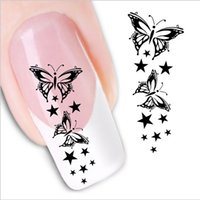 Wholesale New Arrival sheets Water Transfer Nail Art Sticker Decal Nails Beauty Wraps Decals Temporary Tattoos Watermark