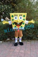 best movie character costumes - Spongebob Costumes Patrick Star Mascot Costume Cartoon Character Fancy Dress Halloween Sponge bob Carnival Costume Best Quality