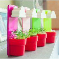 Wholesale New Mini Creative Cloud Hanging Plant Flower Pot Planter Nutritional Soil Seed Balcony Decoration DIY