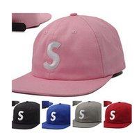 оптовых с панели-Новый Snapback Caps Буква S кости 5 Панель крышки шляпы для мужчин, женщин популярны кости ABA РЕТА Casquette хип-хоп хабар бейсболке gorras 5 Панель Hat