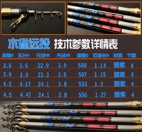 Wholesale 360 cm Pure Carbon High Quality Surf Rod Fishing Rod Telescopic Surf Rod