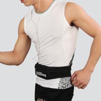 Wholesale Men Women Outdoor Polyester Cycling Jogging Running Sport Waist Bag Fitness Flip Belt Fanny Pack Running Belt For Mobile Phone