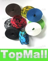 Wholesale LAI New Colorful Bike Tape Bicycle Handlebar Tape Anti slip Cycling Handlebar Bar Tape Belt Wrap Bar Plug