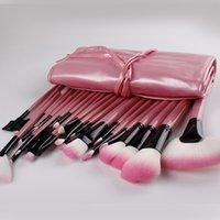 Sistemas de cepillo libres del maquillaje del precio bajo 32pcs del envío