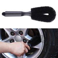 Wholesale Car Motorcycle Wheel Tire Rim Scrub Brush Hub Clean Wash Useful Brush Car Truck Motorcycle Bike Washing Cleaning Tools Free Ship