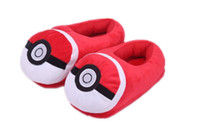 Wholesale Poke Soft Warm Indoor Slipper Warm Pikachu Plush Slippers Shoes Poke Mon Soft Warm Household Slipper Cartoon Animal Indoor Slippers XR