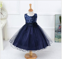 infant and toddler clothing - Hot Sale Summer Flower Girls Dress For Wedding And Party Infant Princess Girl Dresses Toddler Costume Baby Kids Clothes Robe File
