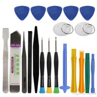 Wholesale 20 in Professional Screwdriver Set Spudger Pry Opening Tool for Samsung Xiaomi Cellphone Tablet Repair Tools Kit
