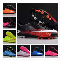 ag box - With Box Mercurial Victory V TF AG Cheap Genuine Men And Women Football Soccer Shoes High Quality Cleat Boots Size Eur US