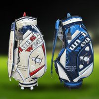 Wholesale 2016 Latest Munsingwear Golf Bag for Men and Women High end Crystal press mould Golf Caddy Bag Laides Golf Club Bags