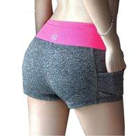 Wholesale 10 colors Women Shorts Summer Fashion Women s Casual Printed Cool women Sport Shorts fitness yuga Running Shorts