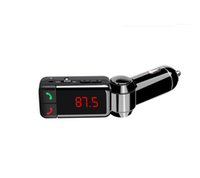 Wholesale BC06 FM Transmitter In Car Bluetooth Receiver Music Player Handsfree Dual USB Charging Port V A For iphone Samsung S6 S7 Note7