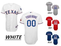 texas rangers - 2016 Custom Texas Rangers Cool Base Majestic Throwback Baseball Jerseys HAMILTON Home Away Men s High Quality MLB Stitched Wear