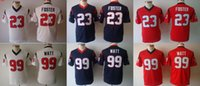 arian foster - 2016 Youth Jerseys Arian Foster J J Watt Kids Stitched Jerseys Free Drop Shipping