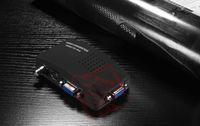 Bnc vidéo vga Prix-PC portable AV composite / S-Vidéo / BNC vers VGA Convertisseur TV Adapter Monitor Switch Box F5