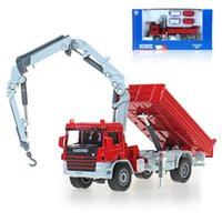 toy crane - Model Cars Diecast Car Model Toy Trucks Vehicle Alloy Car Kids Toys Gift Items Toy Crane