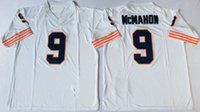 Wholesale 9 Jim McMahon Walter Payton Gale Sayers Name And Number Are Stitched Mens Throwback Football Jerseys M XL