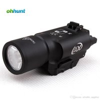 Wholesale Tactical LED Pistol M4 Rifle Flashlight X300 Lanterna Ultra Lights for Hunting Shooting Weaver Picatinny Mount