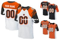 bengals colors - HOT SALE Men s CCNT Bengals Custom Elite Football Jerseys High Quality Stitched Any Name Number You Decide Three Colors Allowed