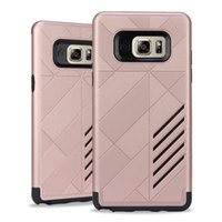 best cooling cases - Best price IN1 Cool Slim Armor Dual Layered Hybrid protector Hard BOX Case Back Cover for Samsung Galaxy Note Note7 N930F N930 DHL Free