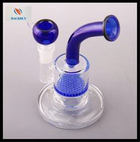 best hot water - Hot best quality water pipes two function clear Mini bubbler glass ash catcher inline percolator water pipe oil rig bong