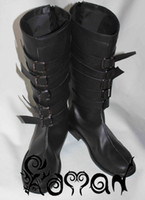 alice boot - Alice Madness Returns punk Alice cos boots Cosplay Shoes Anime Custom made