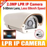 al por mayor cámara de captura de placa-HD 2.0MP Autovía Motor-Way / Toll Station Vehículos de Alta Velocidad CCTV Placa de Matrícula LPR Cámara IP 1080P, 5-50mm Varifocal Lens