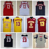 Wholesale Sale James Harden Uniforms USA Dream Team One James Harden Jersey Shirt Christmas Chinese Throwback Red Pride Clutch City Red White