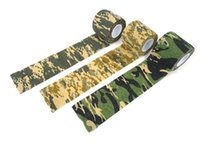 Wholesale Fashion Hot cmx4 m Army Camo Outdoor Hunting Shooting Tool Camouflage Stealth Tape Waterproof Wrap Durable Cloth Tape