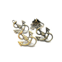 antique offers - wholesales metal antique silver anchor pin badge for decoration offer custom design service with your own logo