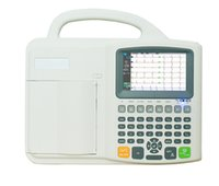 Wholesale Standard Leads Six Channel ECG Machine With interpretation And inch Color TFT LCD Display