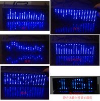 Wholesale microcontroller board Spectrum Analyzer Level Measuring Led lights music spectrum level indicating thermometers For DIY kits