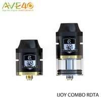 baby base - Authentic iJoy COMBO RDTA vaporizer ml can be assembled into COMBO RDA tank with a RDA base Diameter atomizer VS smok tfv8 baby