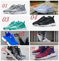 Wholesale 2016 Top Quality Men Aires Huarache Running Shoes Sport Lights Huaraches Run III Low Running Trainer Sneakers
