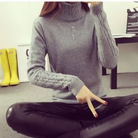 autumn cashmere sweaters - 2017 Autumn Winter Women Long Sweaters Pullover Lady Loose Warm Sweater Coat Wool Knit Outwear FS0801