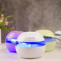Wholesale DC V Ultrasonic Air Aroma Humidifier Color LED Lights Electric Aromatherapy Essential Oil Aroma Diffuser