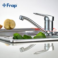 Wholesale Frap Single Handle Kitchen Faucet Rotating Chrome Finished F4504 F4503 F4556 F4563